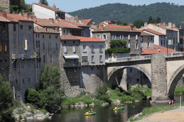 Canoe et kayak sur l'Allier