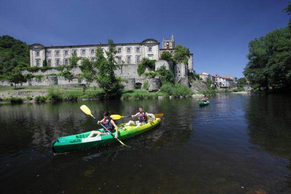 Randonnées en canoes et kayaks sur l'Allier