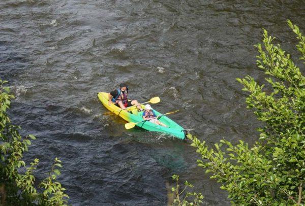Parcours canoë kayak location Allier Auvergne