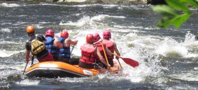 Rafting sur l'Allier en Auvergne