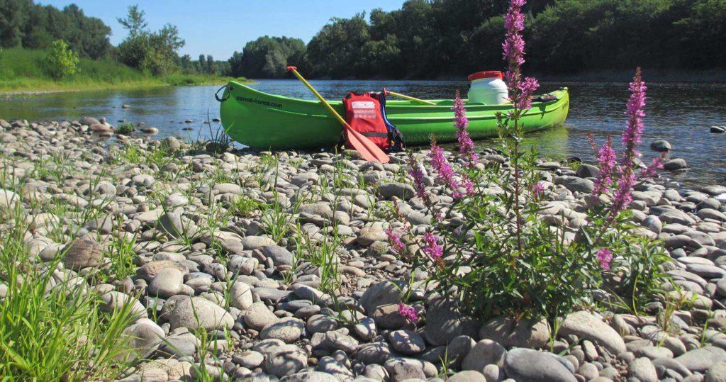 Rando canoë kayak sur l'Allier en autonomie, Auvergne